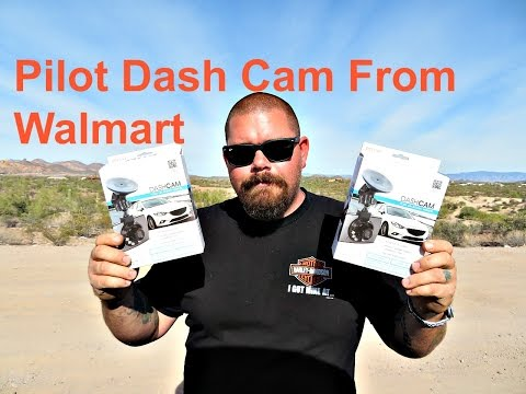 Cheap Walmart Pilot Dash Cam Review