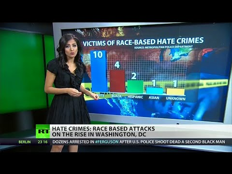 Whites most common targets in DC hate crimes?