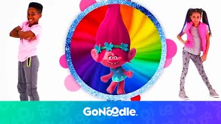 Trolls: Can't Stop The Feeling | GoNoodle thumbnail
