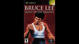 Bruce Lee Quest Of The Dragon Original Xbox Gameplay !