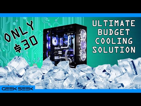 $30 Custom Liquid Cooling loop for PC