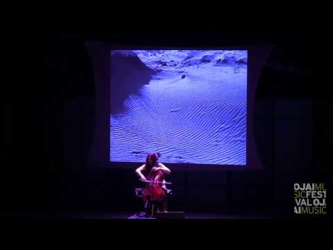 "Maya Beiser performs Michael Harrison's ""Just Ancient Loops"" at the Ojai Music Festival (2015)"