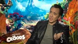 The Croods Featurette -- Nicolas Cage Interview -- IN CINEMAS NOW