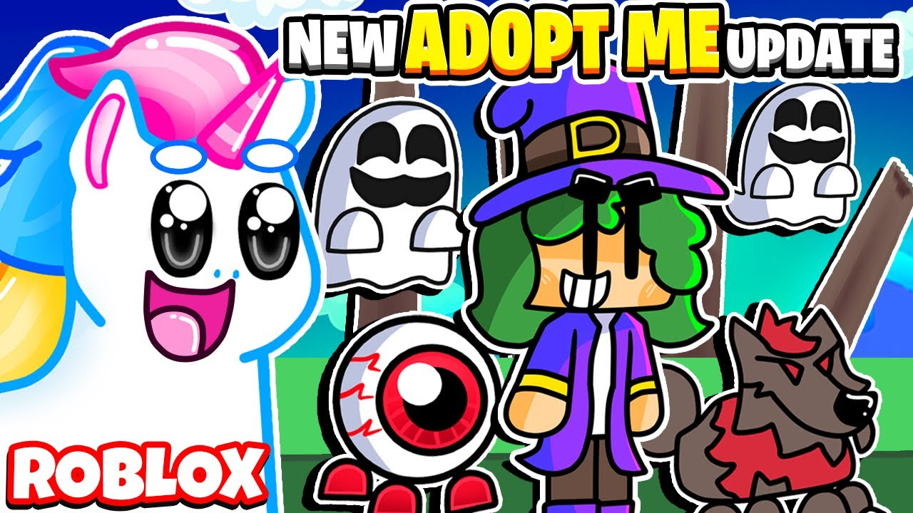 NEW ADOPT ME UPDATE! WHEN IS ADOPT ME UPDATING? FOSSIL EGG & HALLOWEEN! Roblox Adopt Me