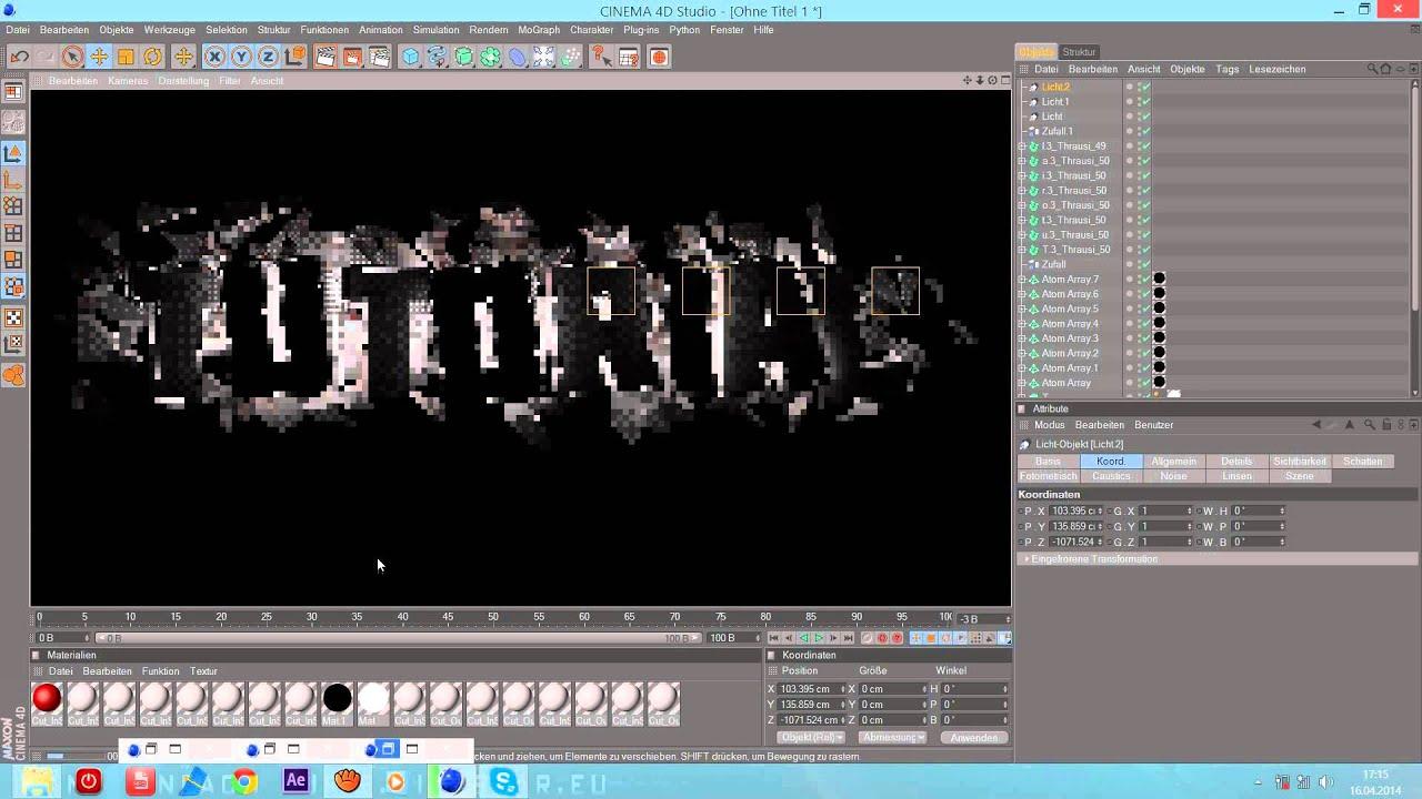 Tutorial Mega Coolen Youtube Banner Erstellen Mit Cinema4d Und