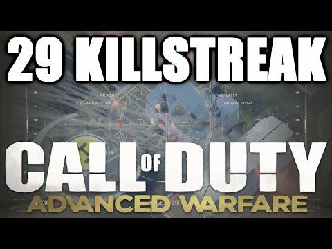 CoD AW - 29 Killstreak on Recovery! Double Paladin, Triple Bombing Run Gameplay! (Advanced Warfare)