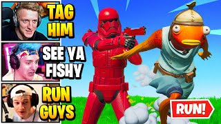 Streamers Play 100 PLAYER *EXTREME* TAG | Fortnite Daily Funny Moments Ep.540