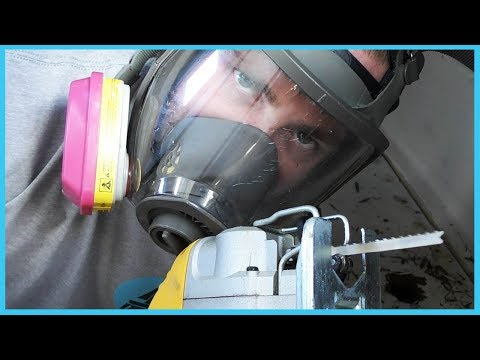 62. MORE DAMAGE - Sailboat Water Tank Refurbish | Learning the Lines - DIY Sailing [SCD Part 2]