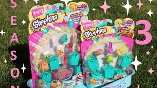 Shopkins Awesome SEASON 3 Opened For Elsa To See New Package Blind Bags