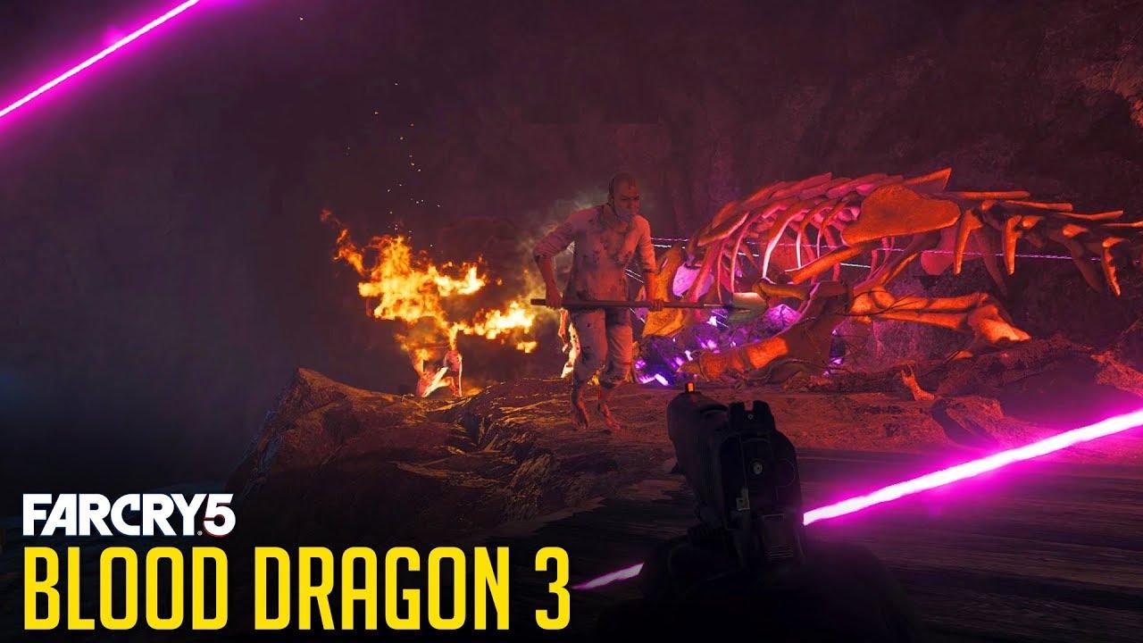 Far Cry 5 Blood Dragon 3 Quest Youtube