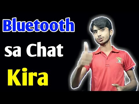 how to connect Bluetooth and chat with friends