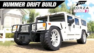 V8 TURBO HUMMER Drift Build - Forza Horizon 3