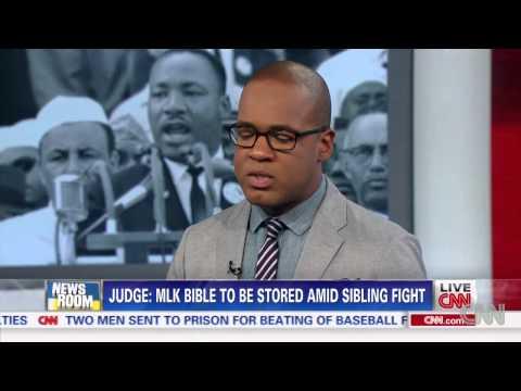 Court to control MLK Bible, Nobel Prize