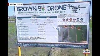 Multi purpose drone ibinida ng PhilRice sa Neuva Ecija