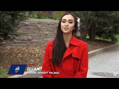 GUAM, Phoebe Denight Palisoc - Contestant Profile: Miss World 2016