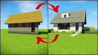 minecraft village transforming