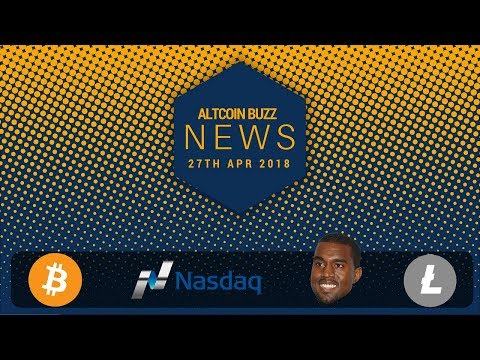Altcoin News - BTC and Crypto bigger than the web, LTC transfer, NASDAQ, Malta, Kanye