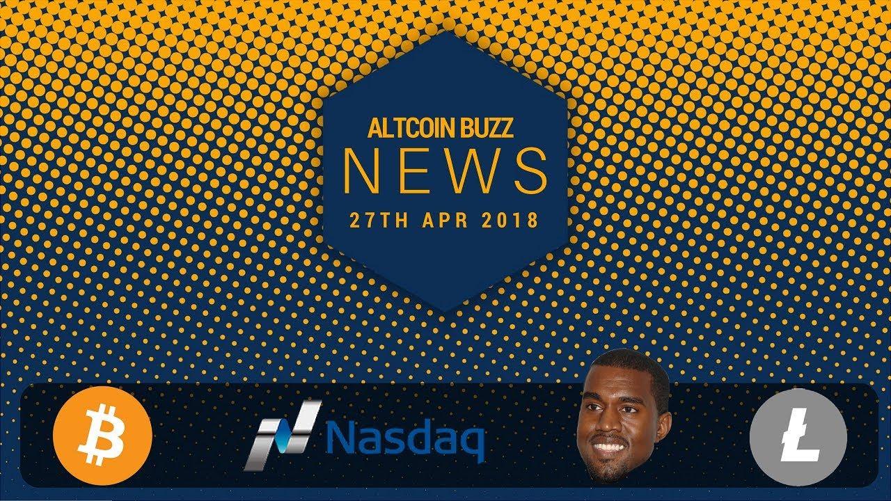 Altcoin News – BTC and Crypto bigger than the web, LTC transfer, NASDAQ, Malta, Kanye