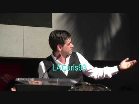 Actor John Stamos speech at his star unveiling - YouTube