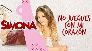 SIMONA   NO JUEGUES CON MI CORAZON (AUDIO OFICIAL)