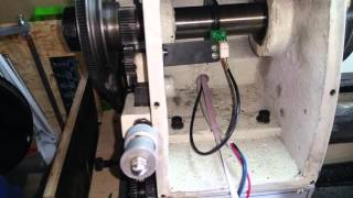 Seized lathe spindle bearings.