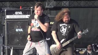 Napalm Death-Nazi Punks Fuck Off LIVE Athens Greece 2013