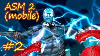 Прохождение the Amazing Spider-man 2 (мобильная версия) эпизод #2