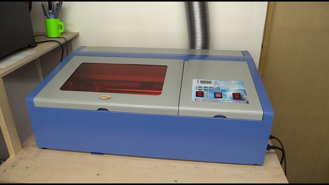 W Ultra 40W Chinese Laser Cutter: Review, Setup, Use - Ec-Projects - YouTube QB74