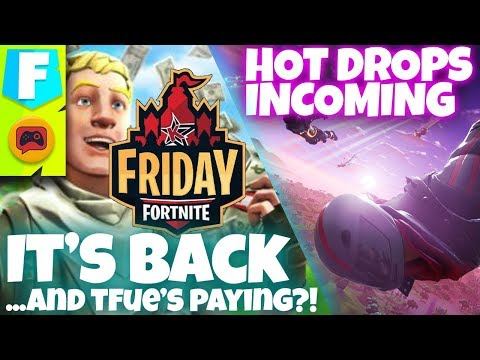 Friday Fortnite Returns With Keemstar And Tfue's Money + Patch V9.1 Breakdown