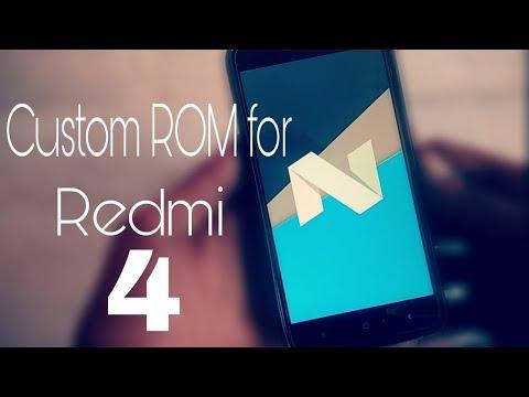 android-nougat-7.1.2-(resurrection-remix-custom-rom)-for-redmi-4/-redmi-4x