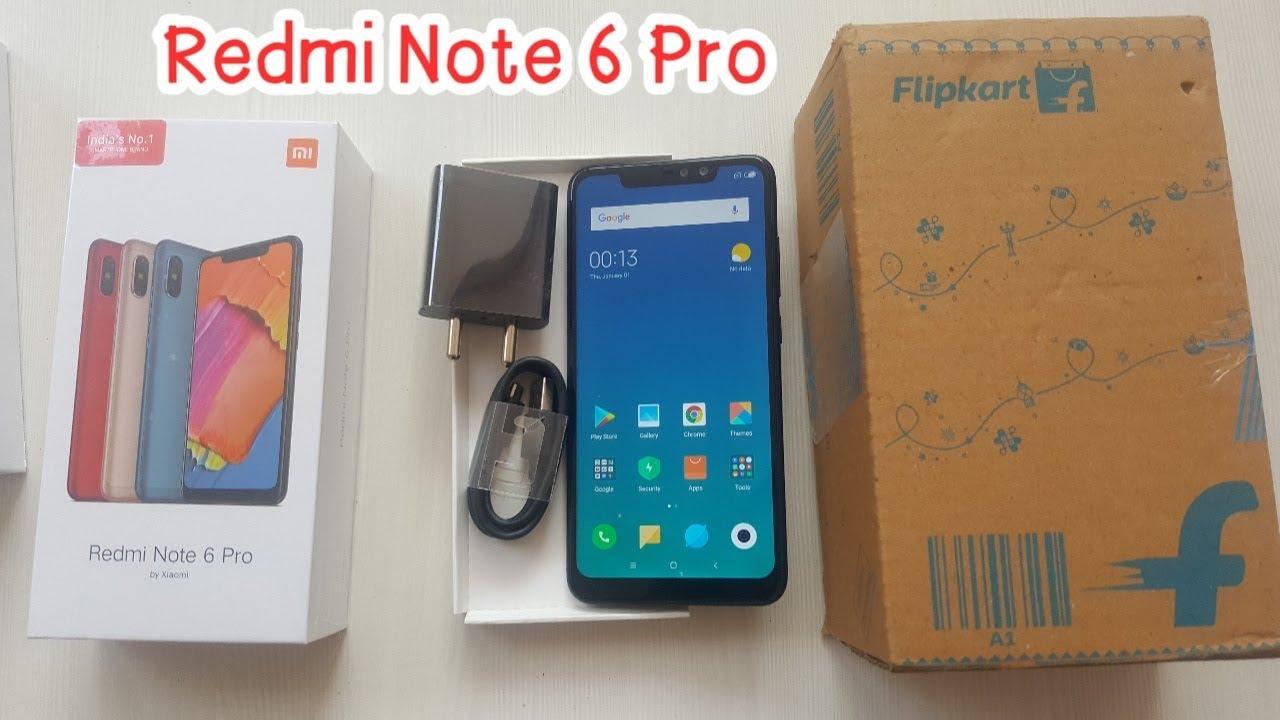 Redmi note 6 pro Unboxing - Flipkart Unit