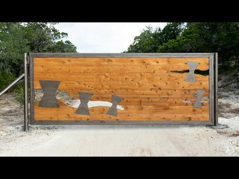Building a 14' Custom Metal/Wood Gate
