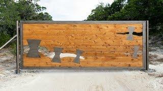 Building a 14' Custom Metal/Wood Gate
