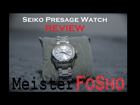 Seiko SRP Presage Automatic Watch Review SRP527J1