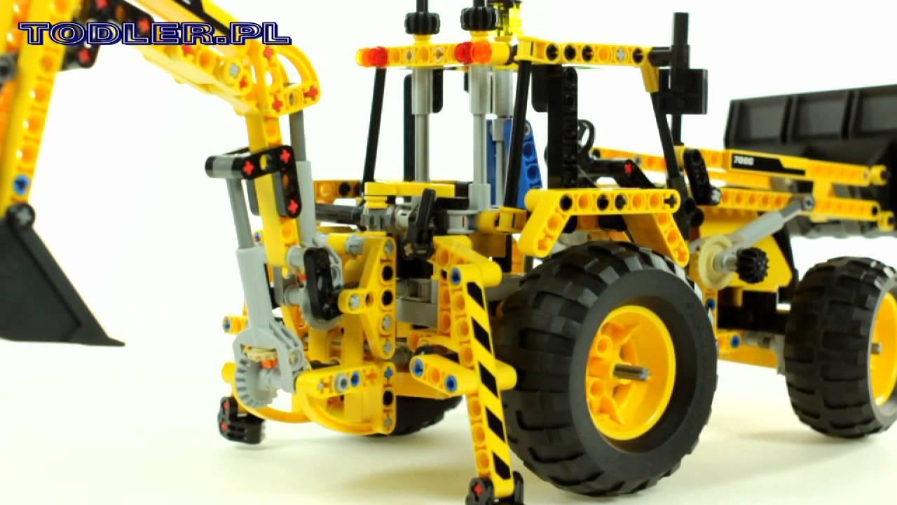 Lego Technic 8069 Koparko ładowarka Youtube