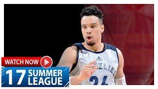 Dillon Brooks Full Highlights vs Jazz (2017.07.11) Summer League - 24 Pts, 6 Reb
