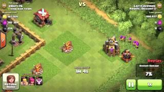 Clash of Clans EPIC raid Fail 660k Resources
