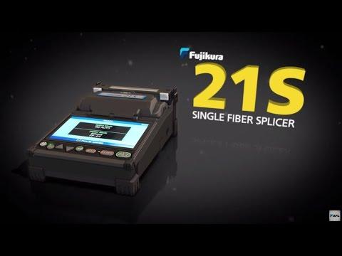 Fujikura 21S Fusion Splicer Demostration