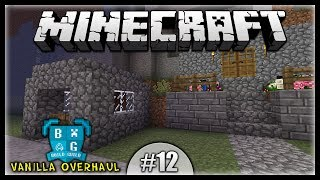 Growing Obsidian! Marketplace Construction! || Minecraft Vanilla Overhaul Modpack [Episode 12]
