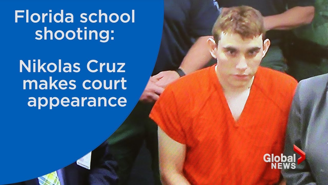 Florida school shooting: Nikolas Cruz makes first court appearance