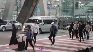 [TTSP Fancam] 181006 TEEN TOP at Suvarnabhumi Airport [Korea Festival 2018] thumbnail