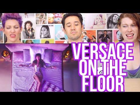 BRUNO MARS - Versace on the Floor - REACTION!!