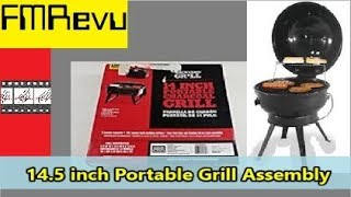 $10.00 Wal-Mart Backyard Grİll | 14.5 inch Portable Grill Assembly