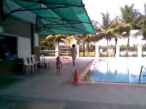 Sri swimming in Amarican International school chennai