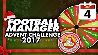 Football Manager 2018 Advent Challenge: 4th Dec #FM18   Football Manager 2018