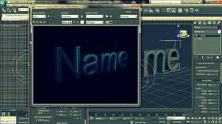3D Text in Autodesk 3ds Max