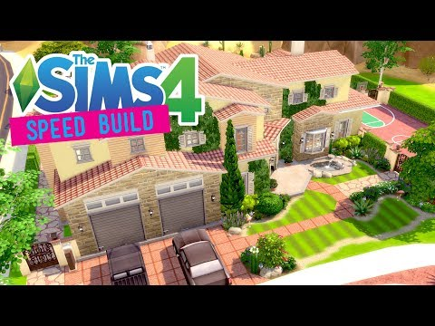 The Sims 4 - Speed Build - Sporty Family Home - No CC -