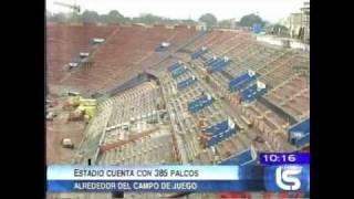 Estadio Nacional Lima 2011 - Capacidad 55 mil espectadores