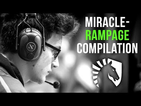 Liquid.Miracle- The God of Rampages - EPIC Rampage Compilation 2019 - Dota 2 thumbnail