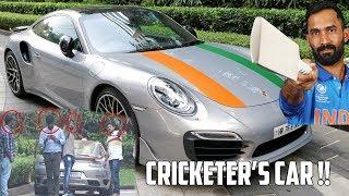 Indian Cricketer Dinesh Karthik's Porsche Turbo S   Big Boy Toyz